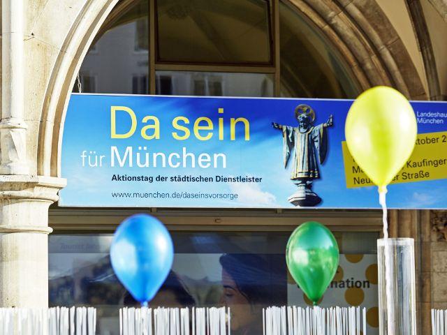 Aktionstag Da Sein für München, Foto: Aktionstag Da Sein für München/Baureferat