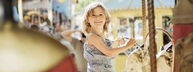 Kinderkarussell auf der Auer Dult, Foto: LHM-RAW