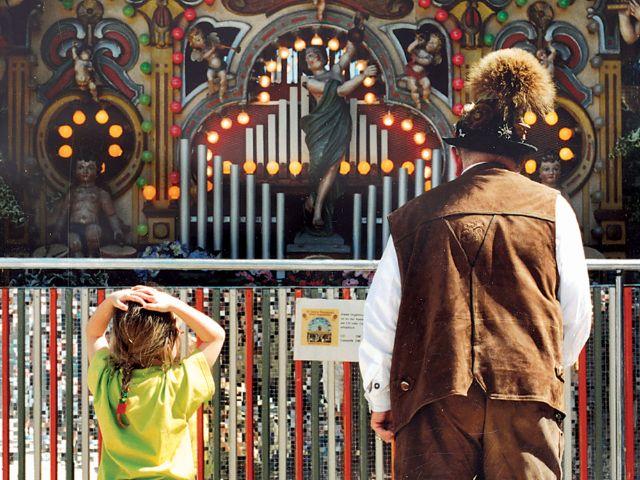 Orgel auf der Auer Dult, Foto: Barbara Bacher
