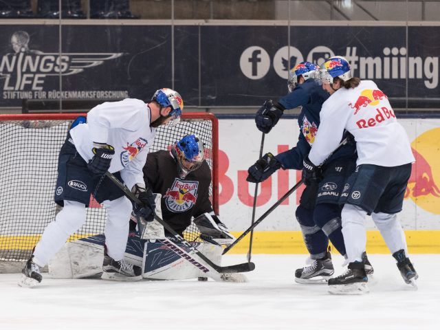 EHC Red Bull beim Training, Foto: EHC Red Bull München