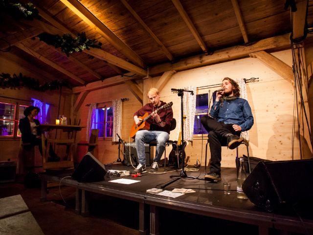 Gasteiger Winteralm auf dem Celibidacheforum, Foto: muenchen.de / Mónica Garduño