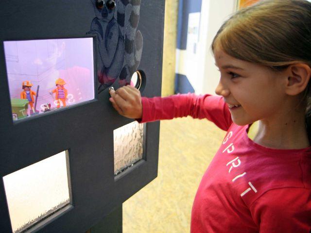 """Ausstellung """"Nur Müll"""", Foto: Kinder- und Jugendmuseum München"""