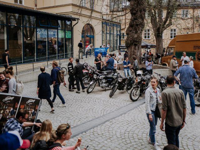 Das New Heritage Festival auf der Praterinsel (Archivbild von 2017), Foto: Monsieur Müller