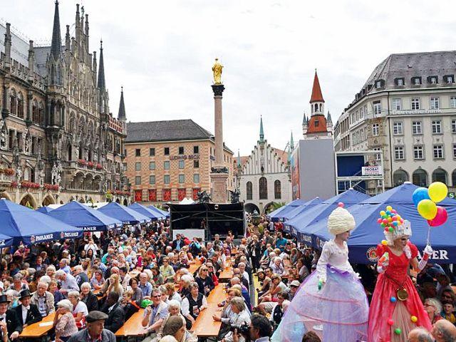Stadtgründungsfest Marienplatz, Foto: muenchen.de/Dan Vauelle