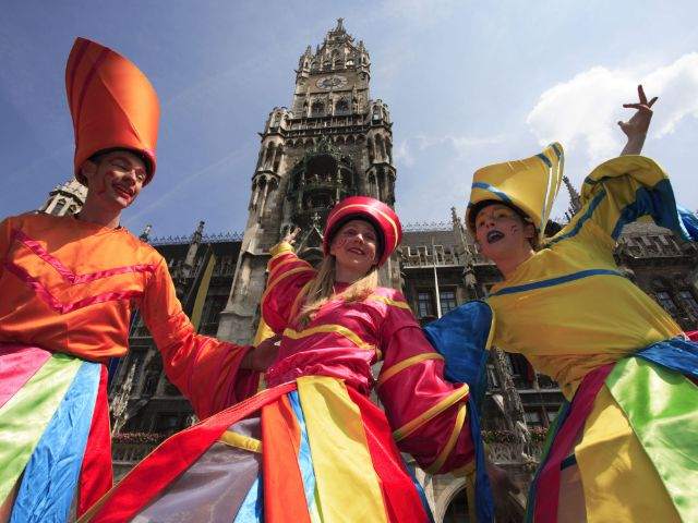 Impressionen vom Stadtgründungsfest in München, Foto: Bernd Römmelt