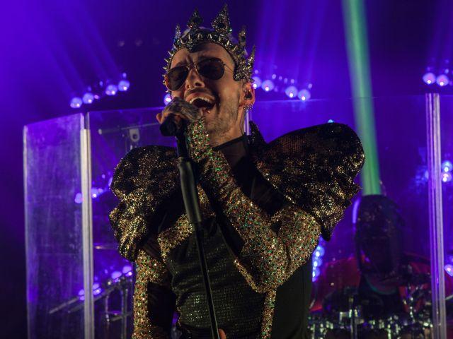 Tokio Hotel: Bill Kaulitz singt live, Foto: Universal Music