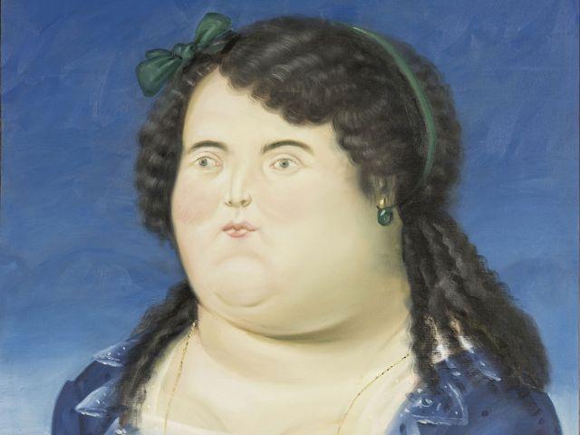 Fernando Botero: Woman (1987), Foto: Open Art /Galerie Thomas