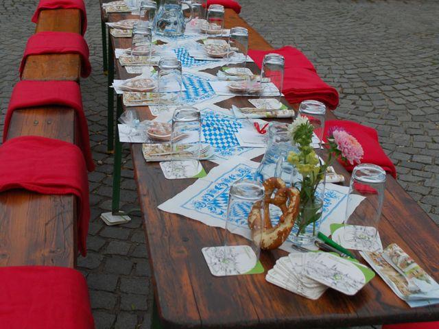 Impressionen zum #viktualien.dinner, Foto: Kommunalreferat München