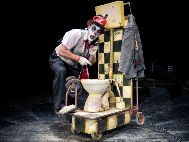Clown Maleficius , Foto: Romanza Circusproduktion