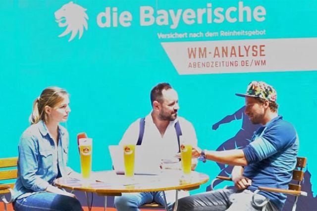 Bayerische WM-Analyse mit Ben Blazkovic