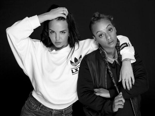 Das Rap-Duo SXTN, Foto: Louise Amelie