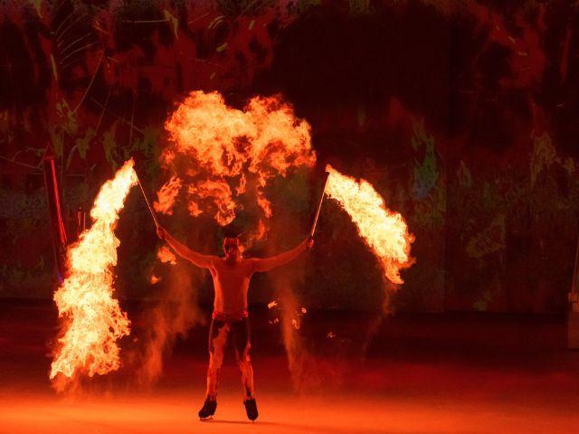 Szenenbild der Holiday on Ice Show Atlantis, Foto: Holiday on Ice / Deen van Meer