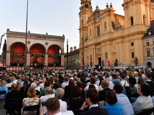 Klassik am Odeonsplatz 2018, Foto: Marcus Schlaf