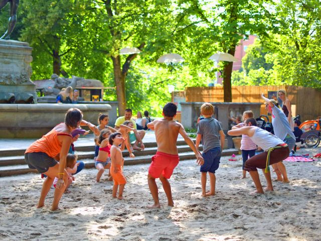 Kulturstrand Kinderprogramm, Foto: Sina Weber