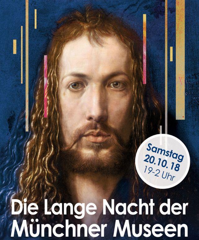 Lange Nacht der Museen - Plakat, Foto: Münchner Kultur GmbH