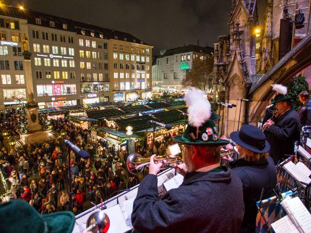 Christkindlmarkt Eröffnung am Marienplatz 2018, Foto: muenchen.de / Mónica Garduño 2018