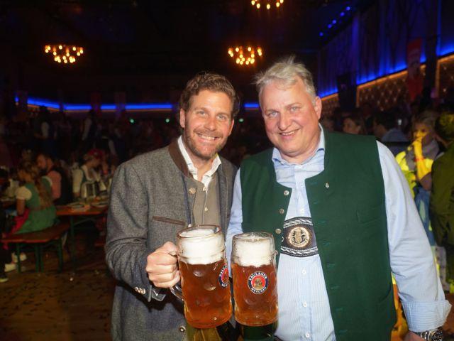 Philip Grefenius und Christian Schottenhamel , Foto: muenchen.de/ Daniel Vauel