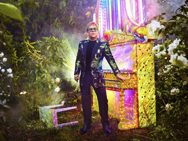 Elton John, Foto: David Chappelle