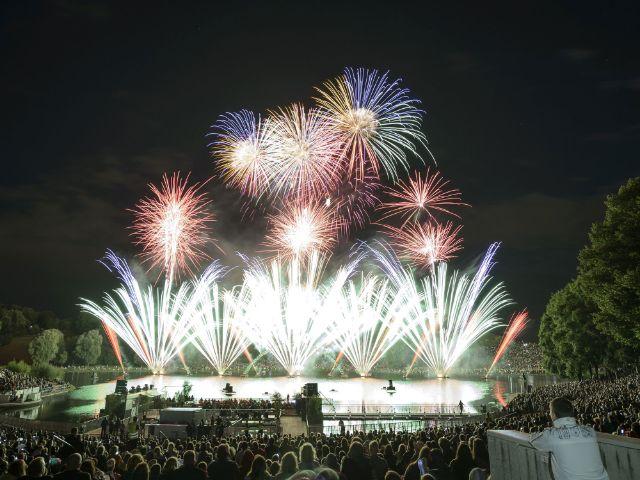 Feuerwerk beim Sommernachtstraum, Foto: Münchner Sommernachtstraum
