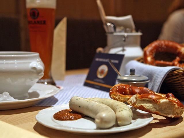 Weißwurst beim Spöckmeier, Foto: Stiftl Gastronomie