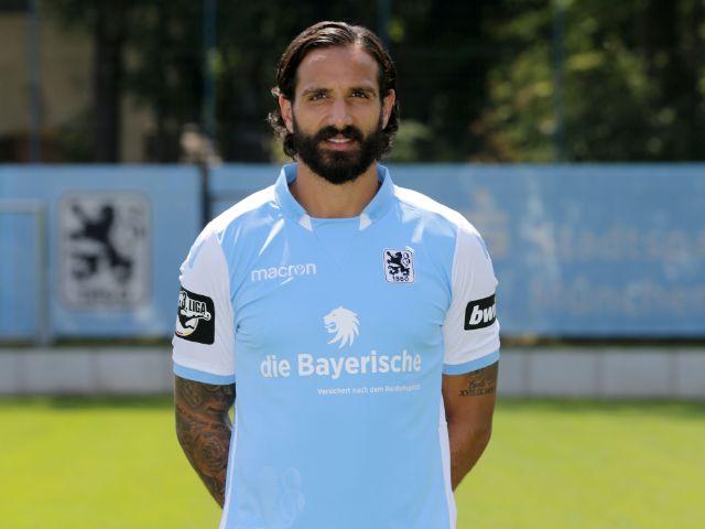 Adriano Grimaldi, Foto: TSV 1860 München (Archiv)