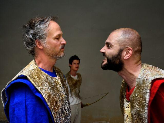 Sommertheater in der Antikensammlung: Philoktet, Foto: Volker Derlath
