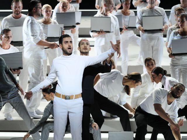 """""""Der Messias"""" von Georg Friedrich Händel am Gärtnerplatztheater, Foto: Marie-Laure Briane"""