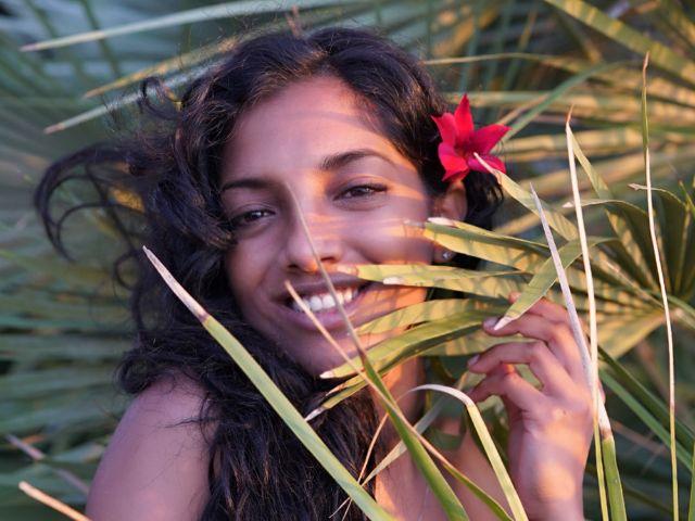 Die kreolische Sängerin Rouhangeze, Foto: Rouhangeze