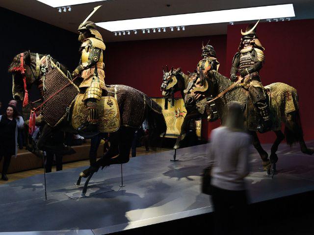 Samurai-Ausstellung in der Kunsthalle München, Foto: Kunsthalle München