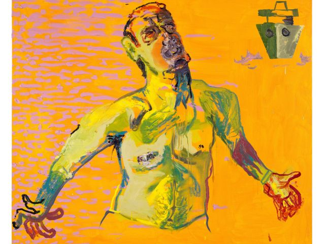 Martin Kippenberger - Maria Lassnig: Body Check, Foto: Estate of Martin Kippenberger, Galerie Gisela Capitain, Cologne