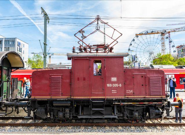 Historische Lokfahrt mit E-Lok E 69 05, Foto: muenchen.de/Michael Hofmann