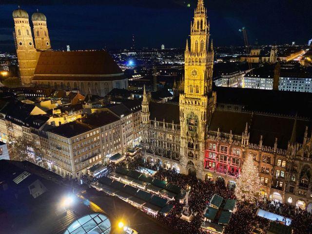 Eröffnung des Münchner Christkindlmarkts 2019, Foto: muenchen.de/Anette Göttlicher