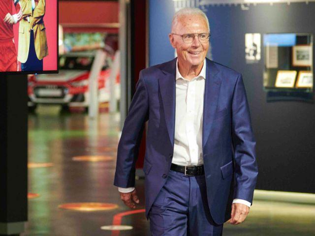 Franz Beckenbauer, Foto: FC Bayern München AG