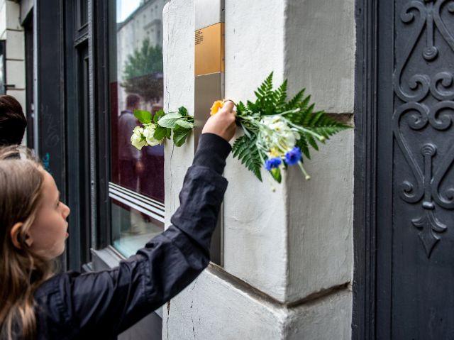Erinnerungszeichen, Foto: Tom Hauzenberger/Stadtarchiv München