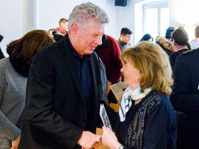 Oberbürgermeister Dieter Reiter, Charlotte Knobloch, Foto: Tom Hauzenberger/Stadtarchiv München