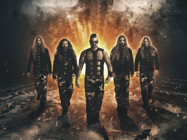 Sabaton in der Olympiahalle, Foto: Live Nation