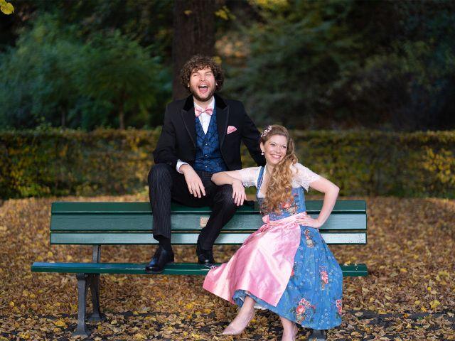 Das Münchner Prinzenpaar: Berni I. (Filser) und Margarethe l. (Stadlbauer), Foto: Narrhalla