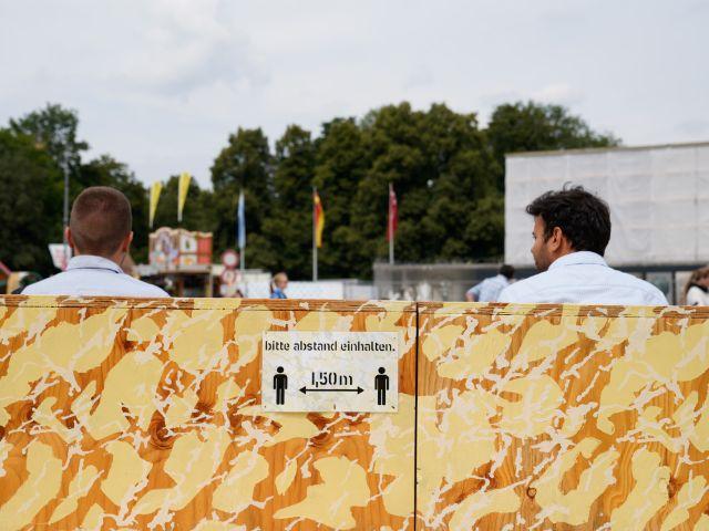 Beim Sommer in der Stadt gelten ebenfalls Abstands- und Hygieneregeln, Foto: muenchen.de/Rico Güttich