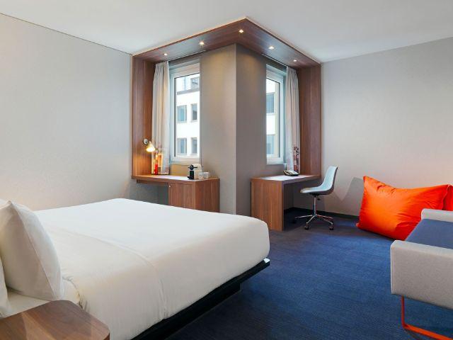 Das Aloft Hotel in München, Foto: Aloft München