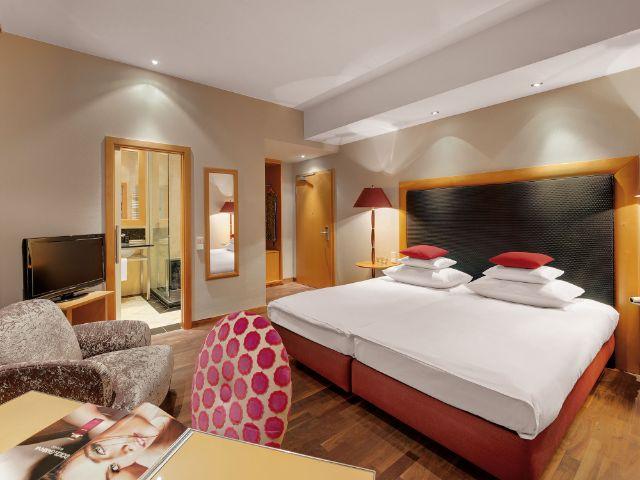 Ein Zimmer im anna Hotel in München, Foto: Thomas Haberland