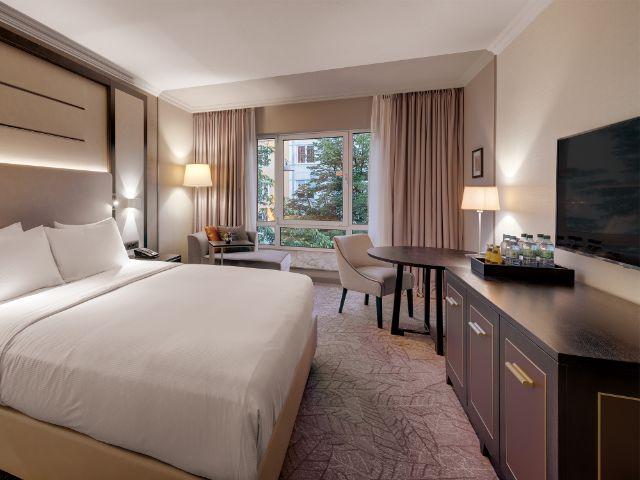 Übernachtet im Hilton Munich City, Foto: Hilton Munich City