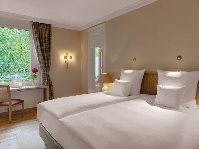 Ein Zimmer im Hotel Excelsior München, Foto: Thomas Haberland