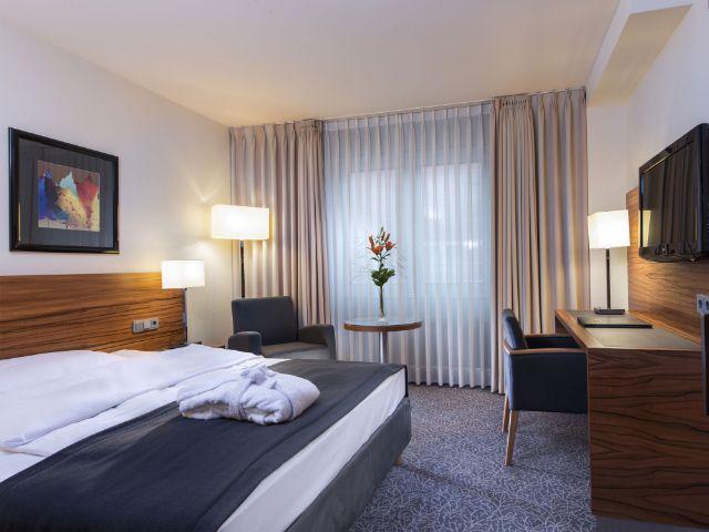 Übernachtet im Hotel Maritim, Foto: Hotel Maritim
