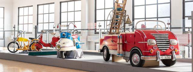 """Sonderausstellung """"Mobile Kinderwelten"""", Foto: Deutsches Museum/Christian Illing"""