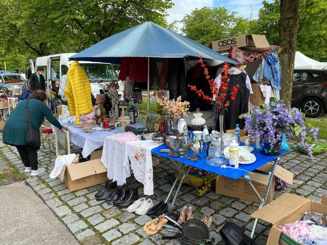 Flohmarkt im Olympiapark, Foto: muenchen.de/Philipp Hartmann