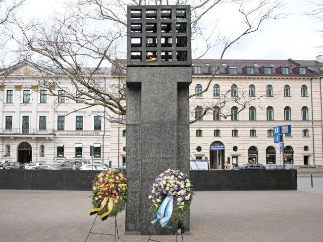 Platz der Opfer des Nationalsozialismus, Foto: NS-Dokumentationszentrum München