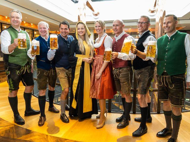 Die Braumeister der 6 Münchner Oktoberfest-Brauereien, Foto: Anette Göttlicher