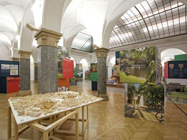 Nachhaltige Stadt - Ausstellung in der Rathausgalerie, Foto: Michael Nagy/Presseamt München