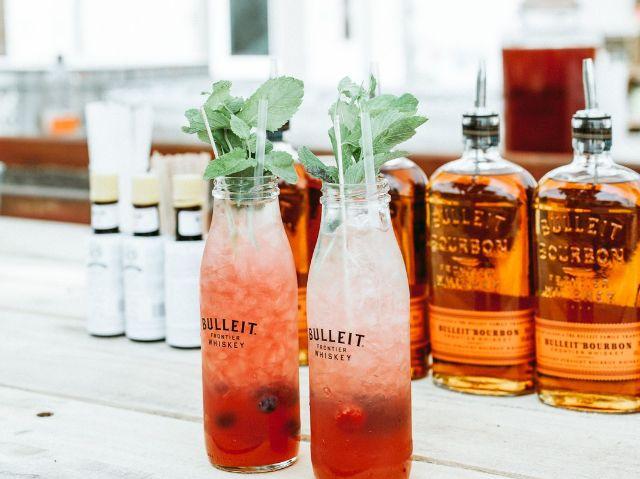 Drinks auf dem Bulleit Palooza, Foto: Daniel Farò