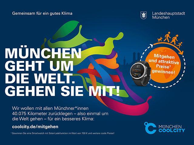 """""""München geht um die Welt"""" von München Cool City"""